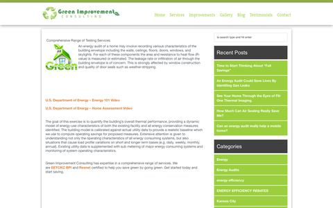 Screenshot of About Page mygreenkc.com - About Us - Energy Audits | Energy Audits - captured Oct. 3, 2014