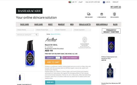 Jack Black Beard Oil 30mL Dubai, Abu Dhabi, UAE