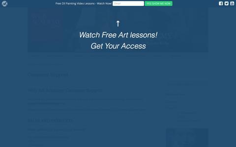 Screenshot of Support Page webartacademy.com - Customer Support - Web Art Academy | Web Art Academy - captured Sept. 9, 2016