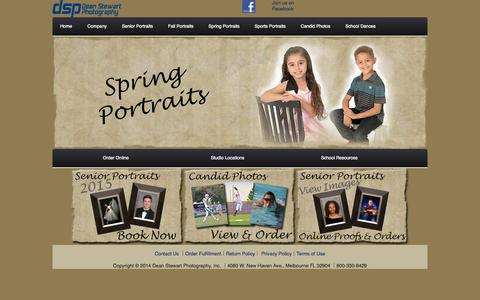 Screenshot of Home Page dsp-photo.com - Dean Stewart Photography Document - captured Jan. 24, 2015