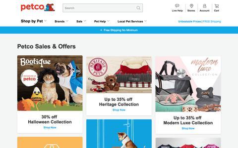 Petco Sale & Deals | Dog & Cat Food Sale | Petco