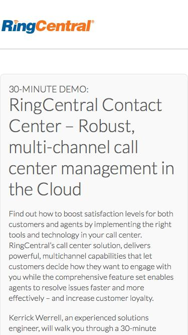 RingCentral-Complete Cloud Communication System