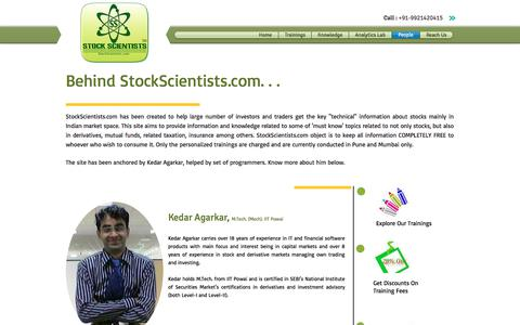 Screenshot of Team Page stockscientists.com - People - captured Nov. 7, 2017