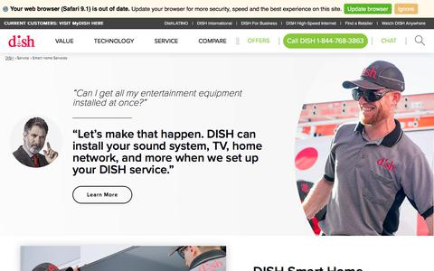 Smart Home Services – Technology Installation Experts | DISH