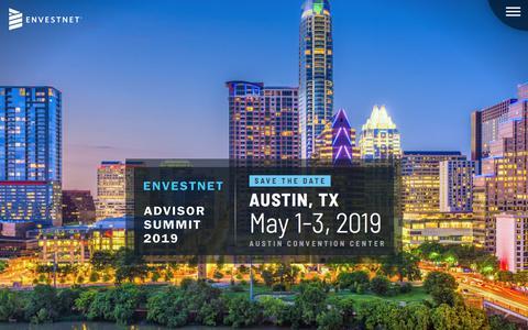 Advisor Summit 2019 - Save the Date