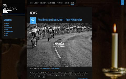 Screenshot of Press Page jtmediauk.com captured Sept. 30, 2014