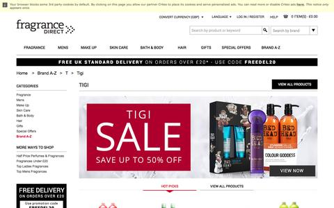 Tigi Hair Care Products, Shampoo & Conditioners | Fragrance Direct