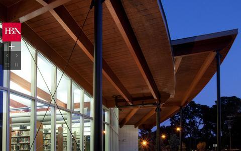 Screenshot of Home Page hbaonline.com - HBA Architecture Interior Design - Virginia Beach Firm - captured Oct. 8, 2014