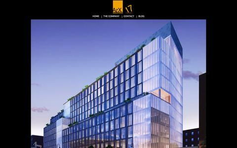 Screenshot of Developers Page arxsolutions.com - Home | ArX Solutions - Architectural Visualization Studio - captured Oct. 29, 2014