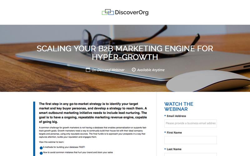 Scaling Your B2B Marketing Engine for Hyper-Growth