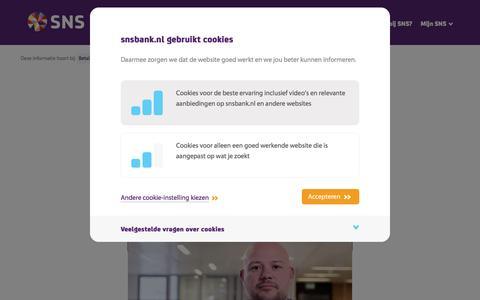 SNS Wereldpas activeren - SNS Bank