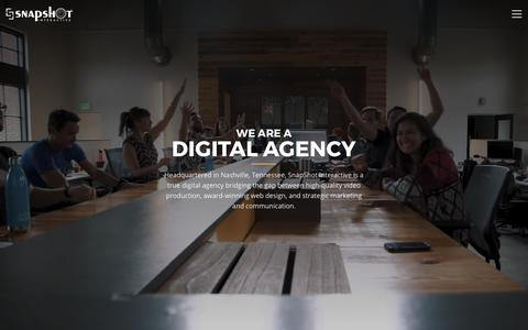 Nashville Video Production, Web Design & Development | SnapShot Interactive
