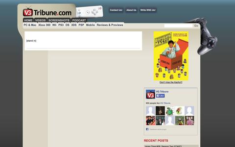Screenshot of Contact Page vgtribune.com - VG Tribune - captured Oct. 7, 2014