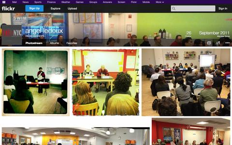 Screenshot of Flickr Page flickr.com - Flickr: PALWORKSHOPS' Photostream - captured Nov. 1, 2014