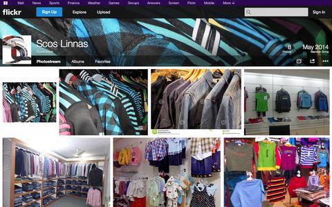 Screenshot of Flickr Page flickr.com - Flickr: ScosLinnas' Photostream - captured Oct. 23, 2014