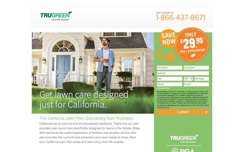 TruGreen. Live life outside. | Only $29.95 First Application