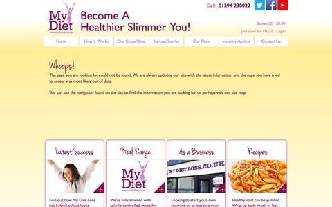 Screenshot of Support Page mydietloss.co.uk - My Diet Loss. The weight loss program you can make your own. Free weight consultations and advice - captured Aug. 12, 2015