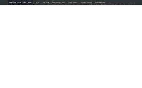 Screenshot of Login Page exporters.com.tr - Frontend Login - captured Nov. 11, 2018