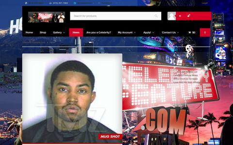 Screenshot of Press Page celebrityfeature.com - News | Celebrity Feature.comCelebrity Feature.com - captured Sept. 29, 2014