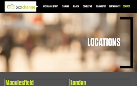 Screenshot of Locations Page boxchange.co.uk - Locations | Boxchange - captured Oct. 6, 2018