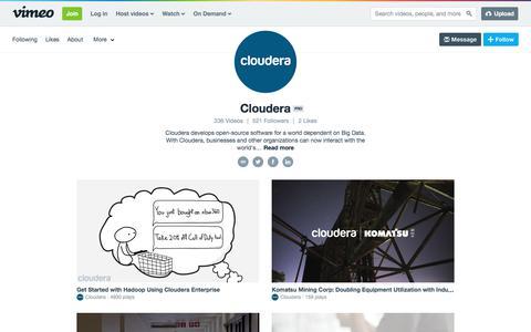 Cloudera on Vimeo