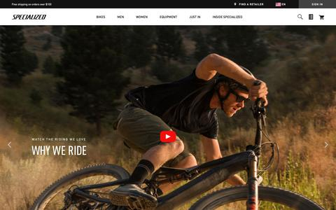 Homepage | Specialized.com