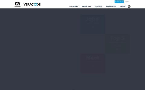Screenshot of Jobs Page veracode.com - Careers | Veracode - captured March 19, 2018