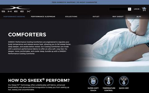 Categories - Comforters - SHEEX® Official Store