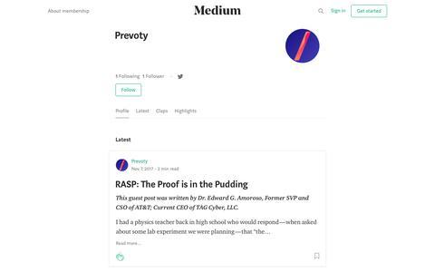 Prevoty – Medium