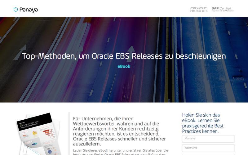 Top-Methoden, um Oracle EBS Releases zu beschleunigen – Panaya