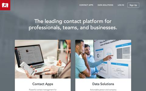 Contact Apps & Data Solutions - FullContact