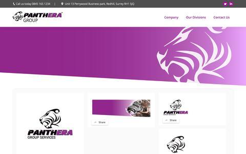 Screenshot of Press Page pantheragroup.com - News - Panthera - captured Oct. 25, 2018