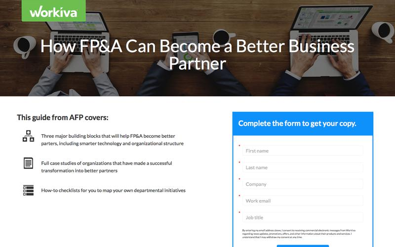 How FP&A Can Become a Better Business Partner