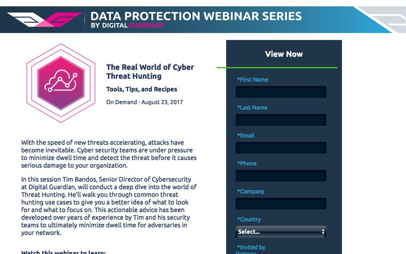 On Demand Webinar | The Real World of Threat Hunting