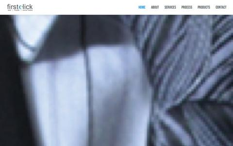 Screenshot of Home Page firstclick.co.in - First Click Web SolutionsWeb | Mobile | Social Media : Web Designing, Web Development, E-Commerce Development, Digital Marketing - captured Oct. 6, 2014