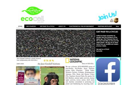 Screenshot of FAQ Page eco-cell.com - Sell your used smartphone for cash | Eco-cell Cell Phone Recycling - captured July 16, 2015