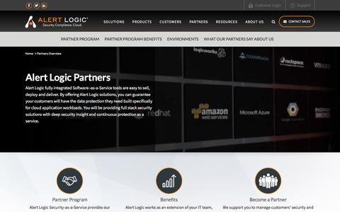 Cloud Security Providers - SaaS Security as a Service Partners | Alert Logic