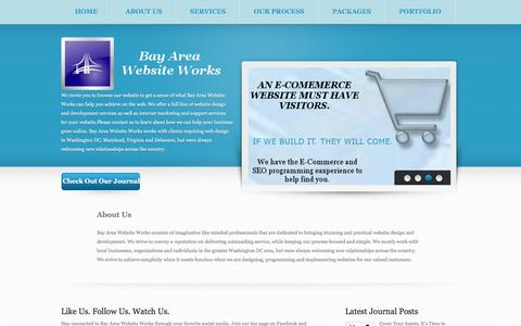 Screenshot of About Page bayareawebsiteworks.com - About Us - Maryland Web Design & Development & SEO by Bay Area Website Works - captured Dec. 30, 2015