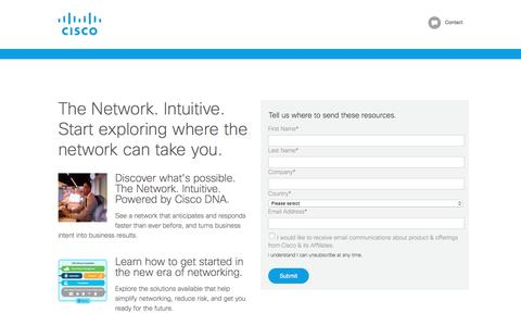 Screenshot of Landing Page cisco.com - Cisco Live Resource Kit - captured July 3, 2017