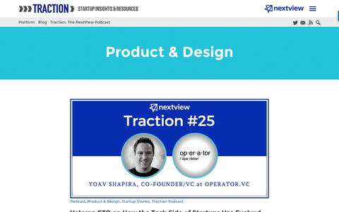 Product & Design Archives - NextView Ventures