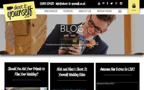 Screenshot of Blog shoot-it-yourself.co.uk - Shoot It Yourself  | Blog - captured March 13, 2017