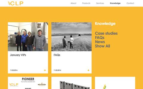 Screenshot of Blog customlab.co.uk - » Knowledge - captured Nov. 15, 2016