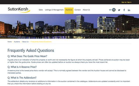 Screenshot of FAQ Page suttonkersh.co.uk - Frequently Asked Questions | Sutton Kersh - captured Sept. 21, 2018