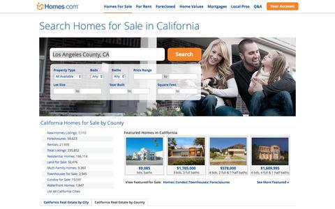 California Homes for Sale | Homes.com