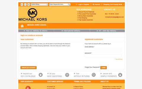 Screenshot of Login Page cdet.ca - Magento Commerce - captured Oct. 28, 2014