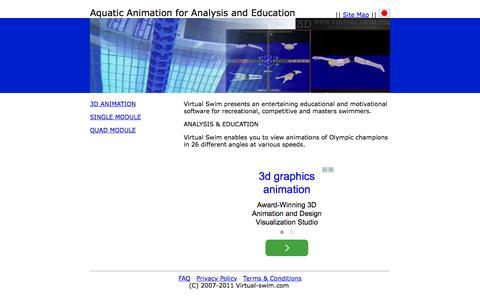 Screenshot of Home Page virtual-swim.com - Virtual-swim.com - captured Oct. 9, 2015