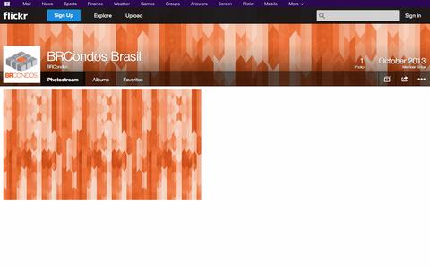 Screenshot of Flickr Page flickr.com - Flickr: BRCondos' Photostream - captured Oct. 23, 2014