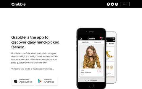 Grabble - Online Fashion Shopping - The UK's best app to find fashion faster - Grabble