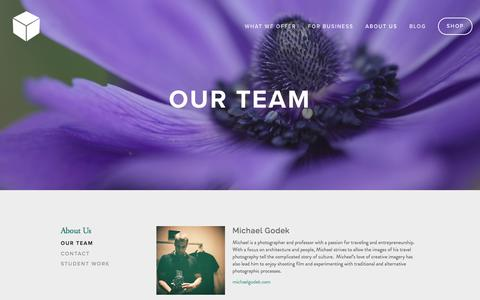 Screenshot of Team Page lightboxphoto.academy - Our Team — Lightbox Photo Academy - captured Aug. 5, 2016