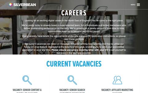 Digital marketing, SEO & PPC jobs in the North East | Silverbean